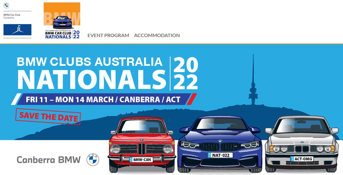 """?? BMW Clubs Australia """"Car Nationals"""" Expression of Interest."""